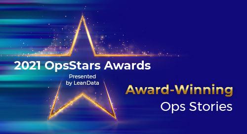 2021 OpsStars Awards: A Compilation of Award-Winning Ops Stories