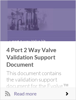 4 Port 2 Way Valve Validation Support Document