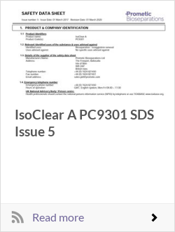 IsoClear A PC9301 SDS Issue 5