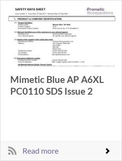 Mimetic Blue AP A6XL PC0110 SDS Issue 2
