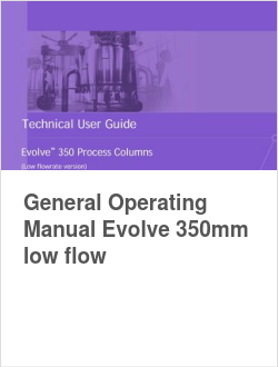 General Operating Manual Evolve 350mm low flow