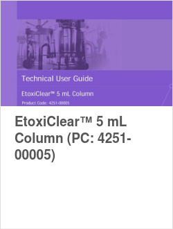 EtoxiClear™ 5 mL Column (PC: 4251-00005)