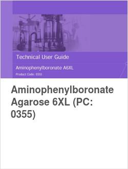 Aminophenylboronate Agarose 6XL (PC: 0355)