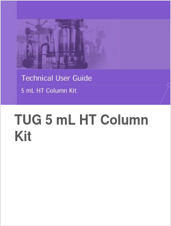 TUG 5 mL HT Column Kit