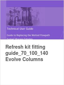 Refresh kit fitting guide_70_100_140 Evolve Columns