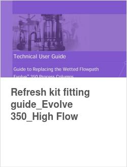 Refresh kit fitting guide_Evolve 350_High Flow