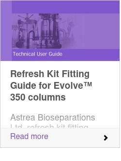 Refresh Kit Fitting Guide for Evolve™ 350 columns