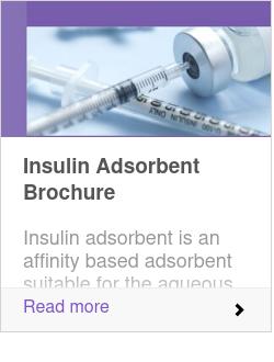 Insulin Adsorbent Brochure