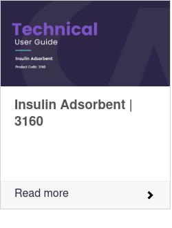 Insulin Adsorbent (PC: 3160)
