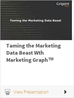 Taming the Marketing Data Beast Wth Marketing Graph™