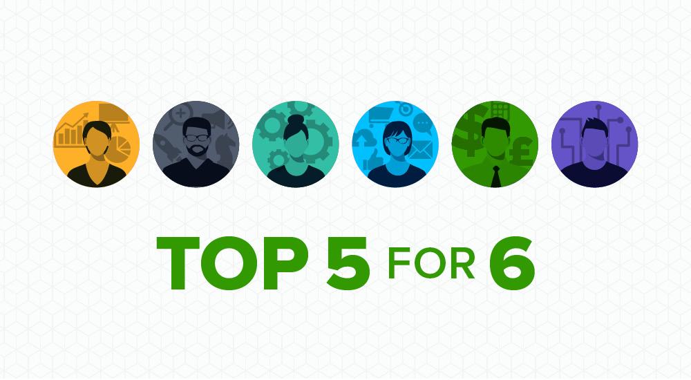 Allocadia Top 5 for 6