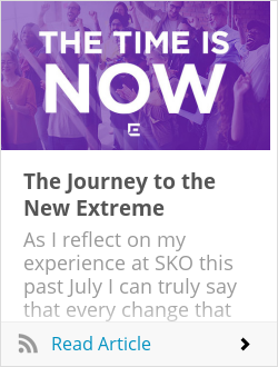 The Journey to the New Extreme