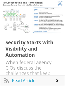 Security Starts with Visibility and Automation