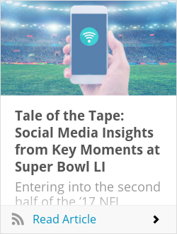 Tale of the Tape: Social Media Insights from Key Moments at Super Bowl LI