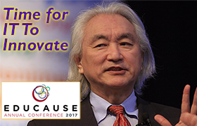 Michio Kaku at Educause 2017