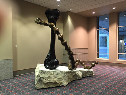 Educause 2017 sculpture