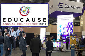Extreme Networks at Educause 2017