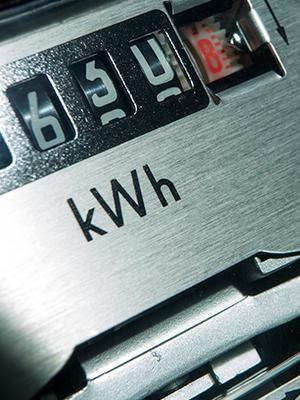 Meter for solar net metering