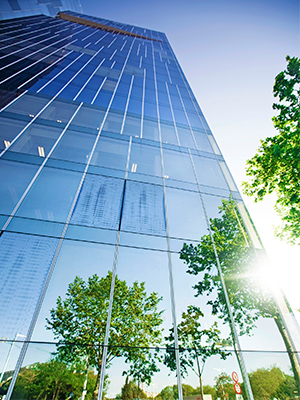There are several types of renewable energy suitable for commercial applications