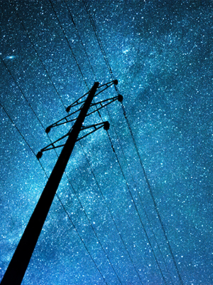 Utility power lines must support unpredictable energy usage for businesses