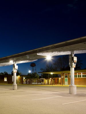 Solar carports provide many benefits of solar power for business