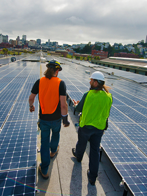 Some commercial solar installations can take advantage of PACE energy programs