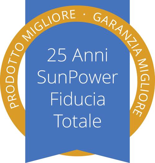 25 anni SunPower fiducia totale
