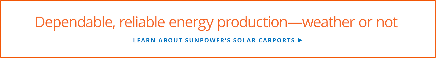 Learn about SunPower's solar carports