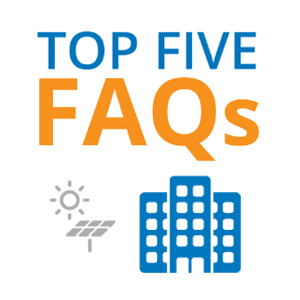 Top 5 FAQs to know when investigating the benefits of solar for business