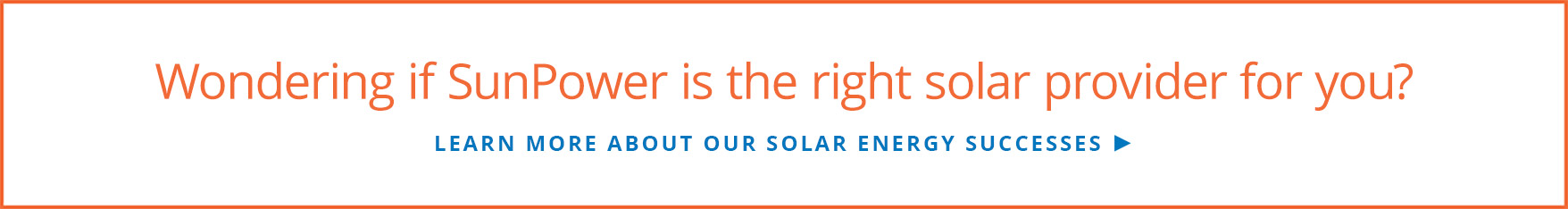 Learn more about our solar energy successes
