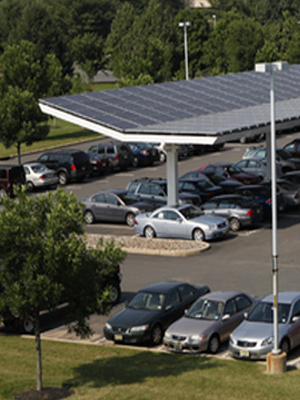 solar canopies yield monthly site lease revenue