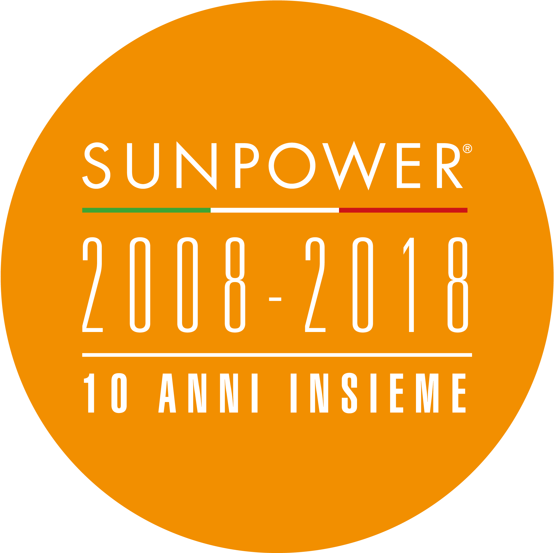 SunPower 10 anni insieme