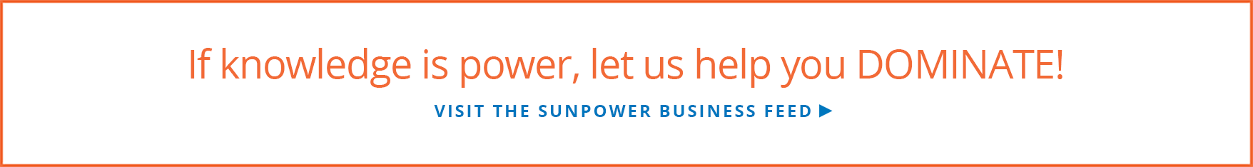 Visit the SunPower Business Feed