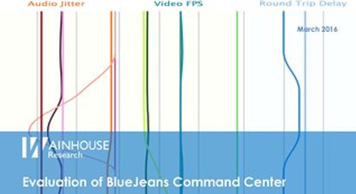 Evaluation of BlueJeans Command Center