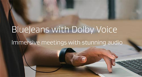 BlueJeans with Dolby Voice Data Sheet