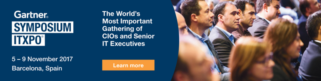 Gartner Symposium/ITxpo - The World's Most Important Gathering of CIOs and Senior IT Executives