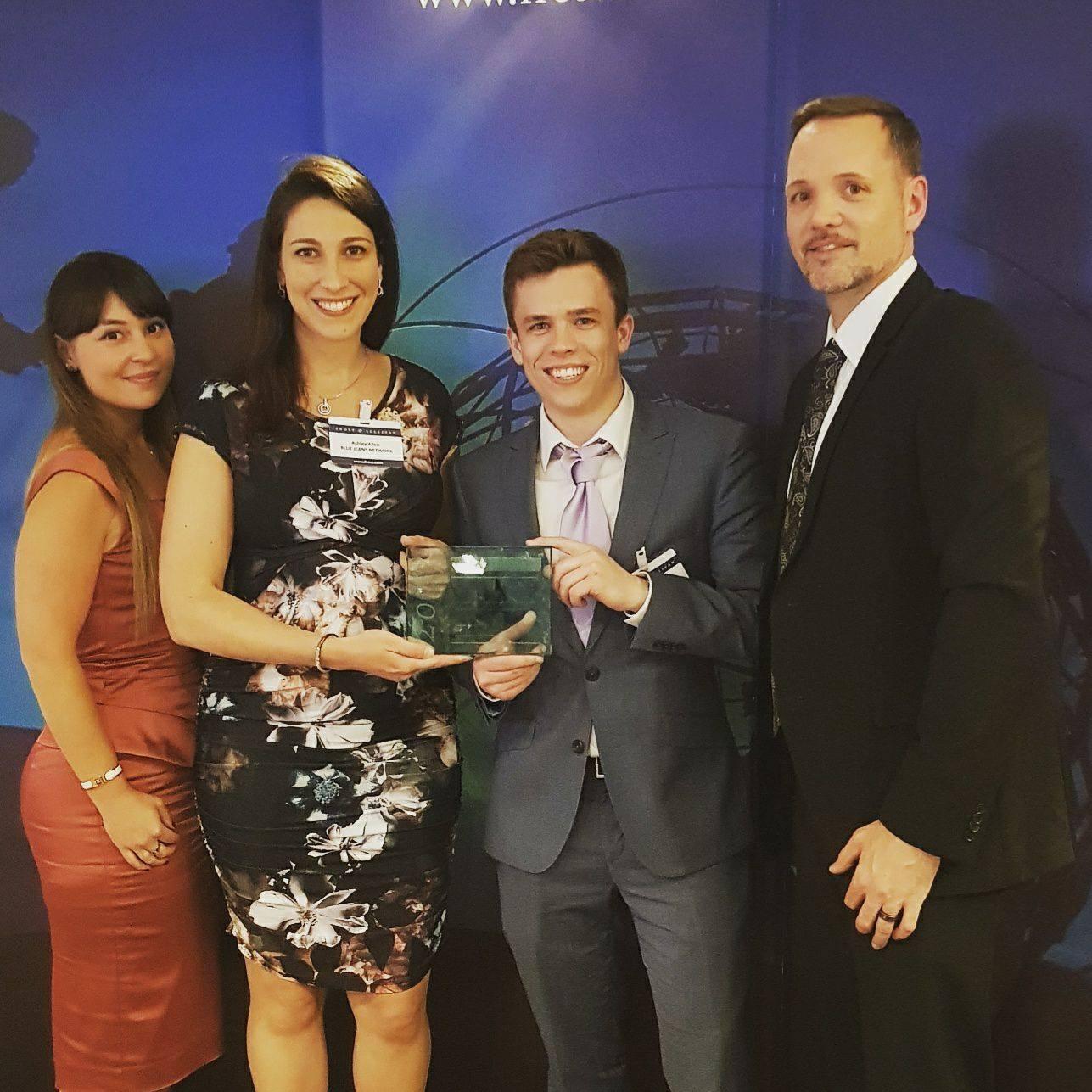 BlueJeans accepts Frost & Sullivan Award