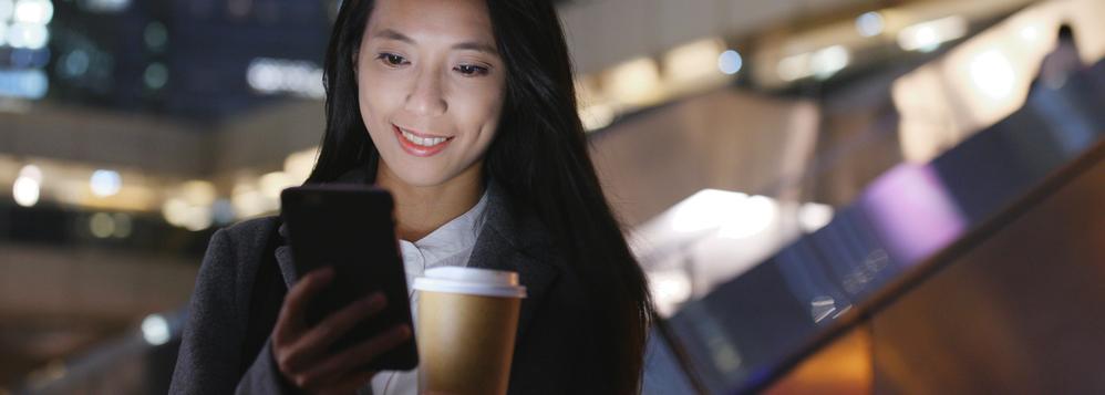 Woman Taking Video Meeting on Phone