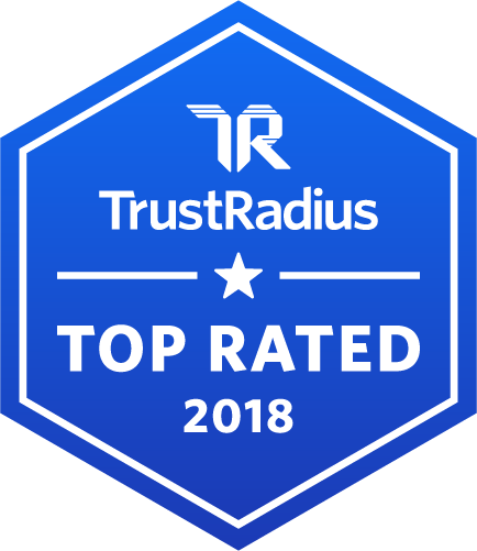 2018 TrustRadius Top Rated - BlueJeans