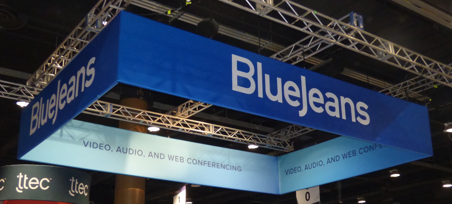 BlueJeans Booth at Enterprise Connect