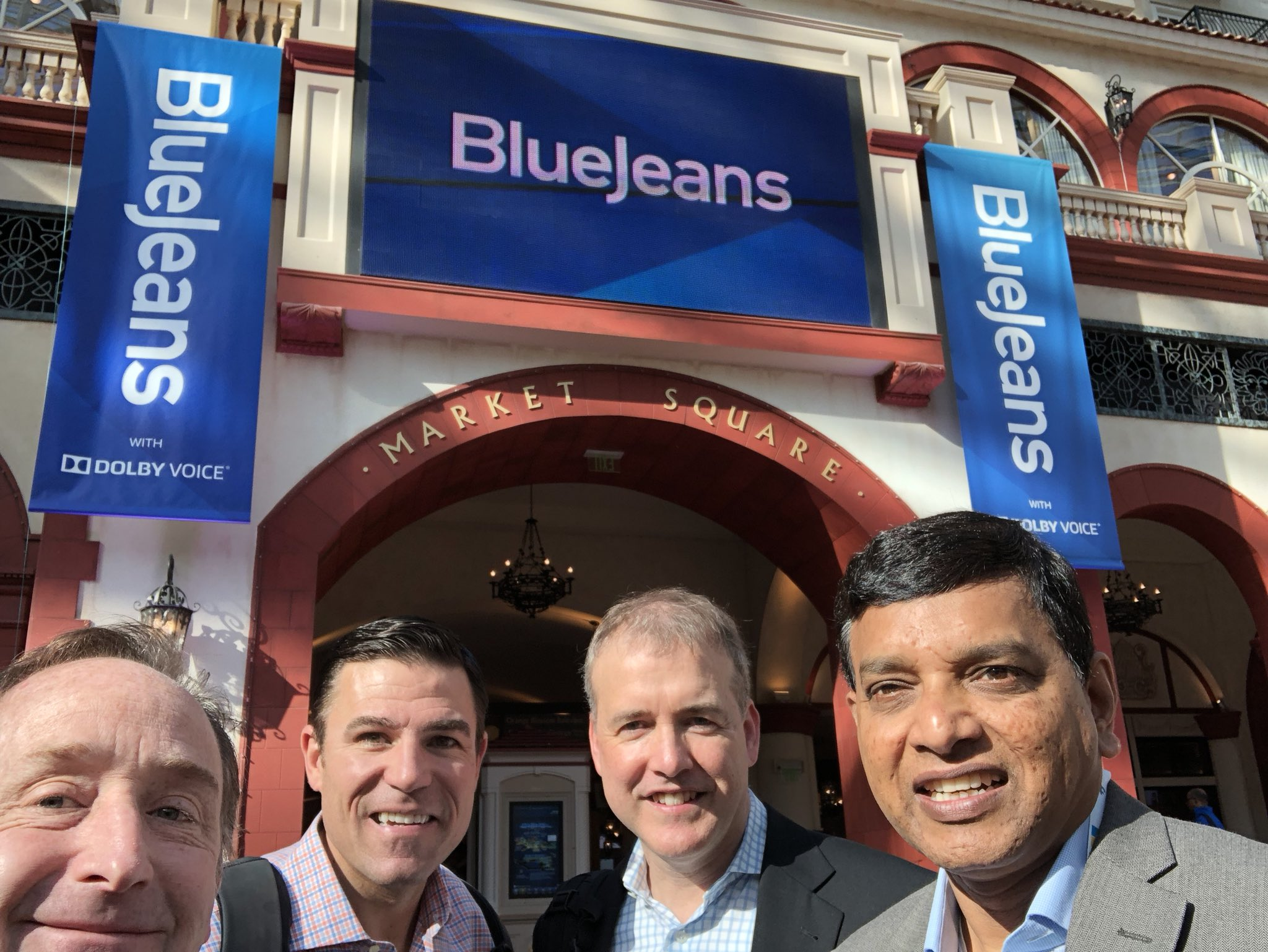 BlueJeans Execs at Enterprise Connect