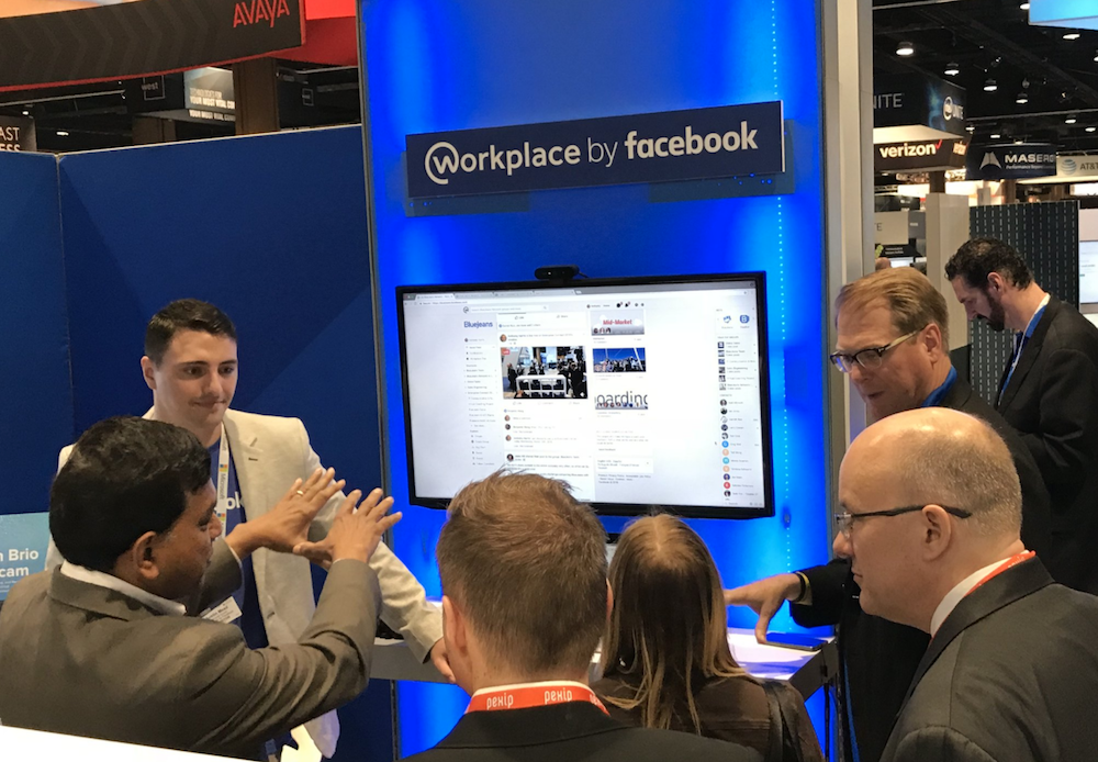 Workplace by Facebook Integration with BlueJeans