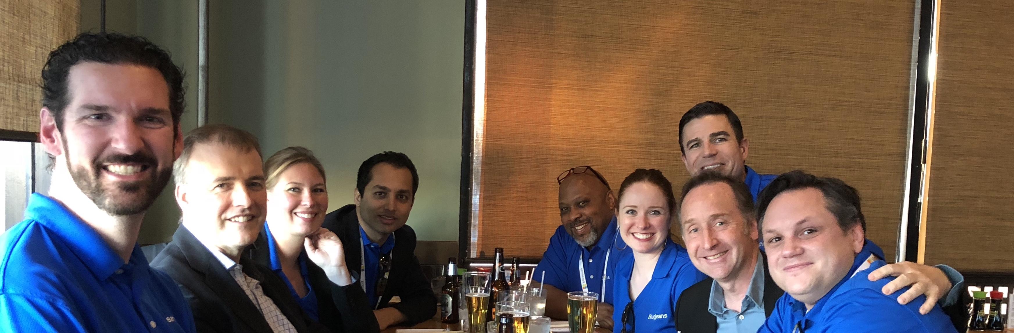 BlueJeans Team at Enterprise Connect