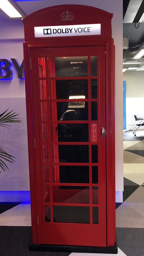 Dolby Voice Phone Booth