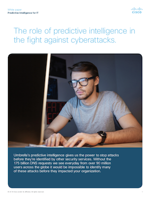 The Role of Predictive Intelligence in the Fight Against Cyber Attacks