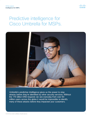 Umbrella for MSPs - Predictive Intelligence