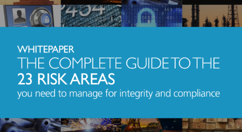 The complete guide to the 23 risk areas