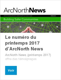 Le numéro du printemps 2017 d'ArcNorth News
