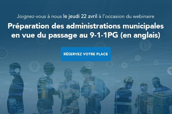 Image promotionnelle du webinaire sur le 9-1-1PG