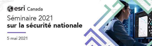 Bannière web du séminaire sur la sécurité nationale